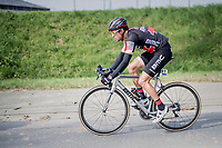 (eventual winner) Greg Van Avermaet (BEL/BMC) racing his customised BMC bike<br /> <br /> 60th E3 Harelbeke (1.UWT)<br /> 1day race: Harelbeke › Harelbeke - BEL (206km)