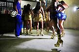 BRAZIL, Rio de Janiero, Samba School Presentation, Unidos Da Tijuca