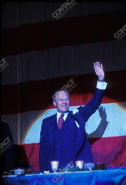U.S. President Gerald R. Ford, November 1977.
