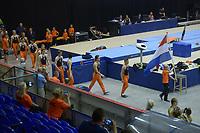 TURNEN: HEERENVEEN: IJsstadion Thialf, 14-07-2018, The Thialf Summer Challenge, Turninterland Nederland-België-Zweden, foto Martin de Jong