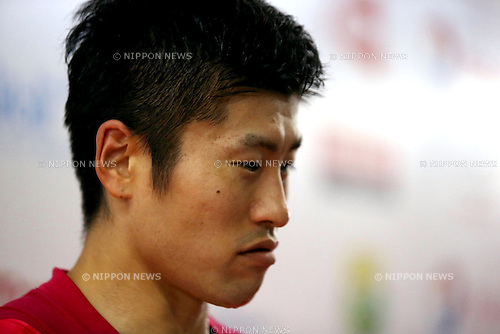 Sho Sasaki (JPN), AUGUST 11, 2015 - Badminton : BWF World Championships 2015 Men's Singles 1st round match in Jakarta, Indonesia. (Photo by Toshihiro Kitagawa/AFLO)