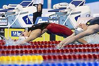 GLOVER Mackenzie CAN<br /> 100 Backstroke Women<br /> FINA Airweave Swimming World Cup 2015<br /> Doha, Qatar 2015  Nov.2 nd - 3 rd<br /> Day3 - Nov. 3rd<br /> Photo G. Scala/Deepbluemedia/Insidefoto