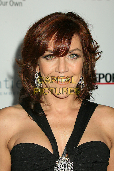 "ANDREA McARDLE.2nd Annual ""A Fine Romance"" Benfit for the Motion Picture & Television Fund at Sunset Gower Studios, Hollywood, California, USA,.18 November 2006..portrait headshot black dress.CAP/ADM/BP.©Byron Purvis/AdMedia/Capital Pictures."