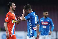 Delusione di Dries Mertens  Napoli dejection<br /> Napoli 22-12-2018  Stadio San Paolo <br /> Football Campionato Serie A 2018/2019 <br /> Napoli - Spal<br /> Foto Cesare Purini / Insidefoto