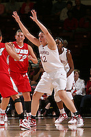STANFORD, CA - NOVEMBER 20:  Sarah Boothe of the Stanford Cardinal during Stanford's 84-46 win over the University of New Mexico on November 20, 2008 at Maples Pavilion in Stanford, California.