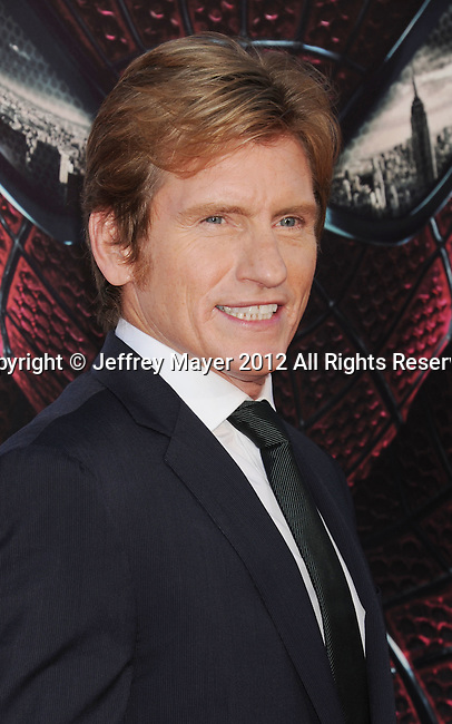 WESTWOOD, CA - JUNE 28: Denis Leary  arrives at the Los Angeles premiere of 'The Amazing Spiderman' at Regency Village Theatre on June 28, 2012 in Westwood, California.