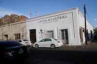 La Matraka, teatro. casa antigua en el centro de Hermosillo