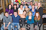 Mag Carey, Farranfore, pictured with some of her family and friends as she celebrated her 21st birthday in Corkerys Bar, Killarney on Saturday night....... ..........................