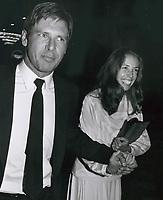 Harrison Ford and Melissa Mathison 1979<br /> Photo By John Barrett-PHOTOlink.net