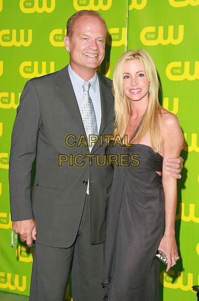 KELSEY GRAMMER & CAMILLE GRAMMER.The CW Network Launch Party held at Warner Bros. Studios Main Lot, Burbank, California, USA,.18 September 2006..half length married husband wife black dress.Ref: ADM/CH.www.capitalpictures.com.sales@capitalpictures.com.©Charles Harris/AdMedia/Capital Pictures.