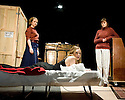 Three Sisters by Anton Cheknov,adapted by Christopher Hampton.Directed by Sean Holmes. With With Poppy Miller as Olga,Romola Garai as Masha,Clare Dunne as Irina.Opens at The Lyric Theatre Hammersmith  on 25/1/10. CREDIT Geraint Lewis