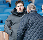 07.04.2018 Rangers v Dundee:<br /> Josh Windass in the stand