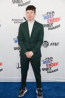 SANTA MONICA, CA - MARCH 3: Barry Keoghan at the 2018 Film Independent Spirit Awards in Santa Monica, California on March 3, 2018. <br /> CAP/MPI/SR<br /> &copy;SR/MPI/Capital Pictures