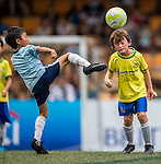 HKFC Citibank Junior Soccer 7s Final match as part of day three of the HKFC Citibank Soccer Sevens 2015 on May 31, 2015 at the Hong Kong Football Club in Hong Kong, China. Photo by Xaume Olleros / Power Sport Images