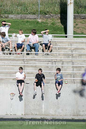 fans. Skyline defeats Riverton for the Utah High School Lacrosse Championship, Saturday afternoon at Alta High School.<br />