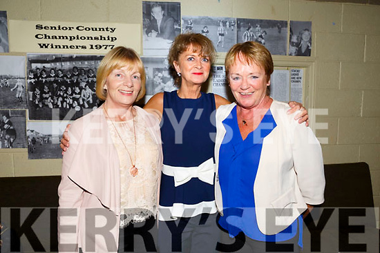 Mary Austin Stacks Ladies celebrate the 40th anniversary of their 1st Senior County Championship win in 1977 at Austin Stacks Clubhouse on Saturday. Pictured Mary O'Connor, Joan Barry and Mary Laid