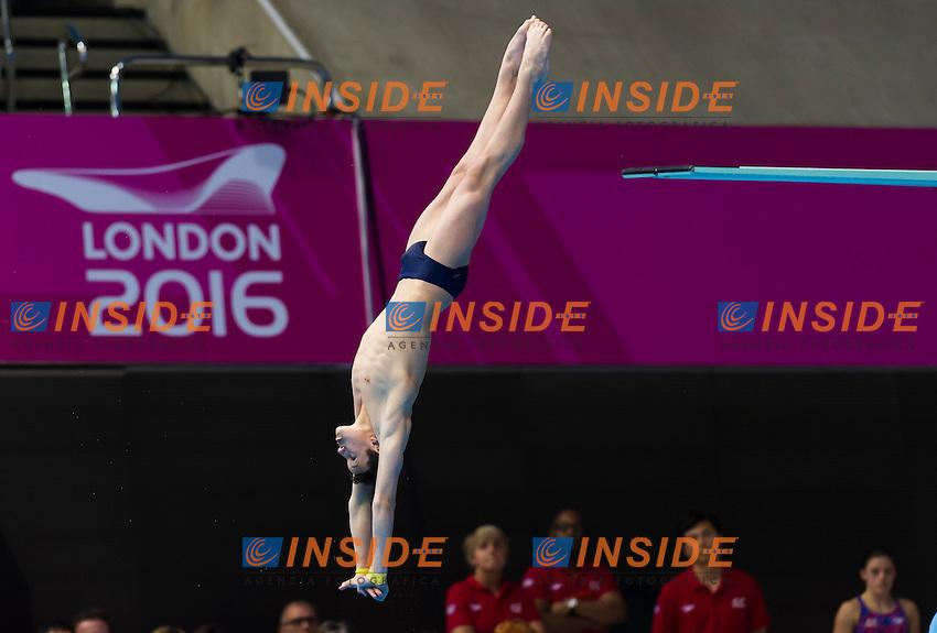 Team ROU RONTU Alin Ioan<br /> London, Queen Elizabeth II Olympic Park Pool <br /> LEN 2016 European Aquatics Elite Championships <br /> Diving<br /> Team event final <br /> Day 01 09-05-2016<br /> Photo Giorgio Perottino/Deepbluemedia/Insidefoto