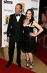 BEVERLY HILLS, CA. - October 27: President and Publisher of Variety Magazine Neal Stiles and Actress Kat Dennings arrive at the 12th Annual Hollywood Film Festival Awards Gala at the Beverly Hilton Hotel on October 27, 2008 in Beverly Hills, California.