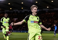 Bolton Wanderers' Ronan Darcy (centre) celebrates scoring his side's first goal <br /> <br /> Photographer Andrew Kearns/CameraSport<br /> <br /> The EFL Sky Bet League One - Lincoln City v Bolton Wanderers - Tuesday 14th January 2020  - LNER Stadium - Lincoln<br /> <br /> World Copyright © 2020 CameraSport. All rights reserved. 43 Linden Ave. Countesthorpe. Leicester. England. LE8 5PG - Tel: +44 (0) 116 277 4147 - admin@camerasport.com - www.camerasport.com