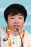 Masaru Hoshizawa (JPN), MARCH 8, 2018 : Japanese Nordic Skiing team Press Conference at Paralympic Village during the PyeongChang 2018 Paralympics Winter Games in Pyeongchang, South Korea. (Photo by Sho Tamura/AFLO SPORT)