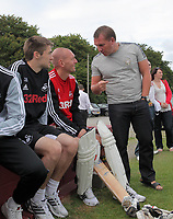 Pictured: Manager Brendan Rodgers. Friday July 2011<br /> Re: Swansea City FC playing rugby at the Mumbles Cricket Club , fundraising for charity, near Swansea south Wales.