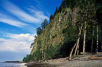 Haida Gwaii (Queen Charlotte Islands), Northern BC, British Columbia, Canada - Tow Hill at Agate Beach along McIntyre Bay, Naikoon Provincial Park, Graham Island