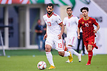 Mohammadhossein Kanani Zadeghan of Iran in action during the AFC Asian Cup UAE 2019 Group D match between Vietnam (VIE) and I.R. Iran (IRN) at Al Nahyan Stadium on 12 January 2019 in Abu Dhabi, United Arab Emirates. Photo by Marcio Rodrigo Machado / Power Sport Images