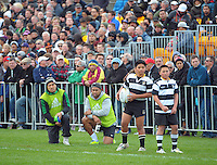 Ma'a Nonu and Julian Savea watch from the sidelines during the Wellington Club Rugby Jubilee Cup final between Tawa and Oriental-Rongotai at Hutt Recreation Ground, Lower Hutt, Wellington, New Zealand on Sunday, 4 August 2013. Photo: Dave Lintott / lintottphoto.co.nz