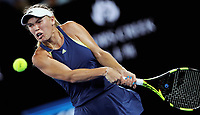 MELBOURNE,AUSTRALIA,27.JAN.18 - TENNIS - WTA World Tour, Grand Slam, Australian Open. Image shows Caroline Wozniacki (DEN). Photo: GEPA pictures/ Matthias Hauer / Copyright : explorer-media