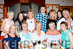 Party <br /> -------<br /> Staff from Tralee IT catering, celebrated with Joan Walsh, seated centre, on a special birthday last Friday night in City palace in the town centre, seated L-R Shelia Kelly, Mary Greensmith, Joan Walsh, June Mccauley&amp;Imelda Mulane, back L-R Margaret Breen, Geraldine Lynch, Patsy O'Connor, Paudie O'Riordan, Sharon Richards, Theresa Nolan and Patsy Stone.