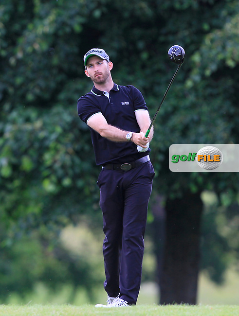 Adam Harnett (Blacknest GC) on the 8th tee during Round 1 of the Titleist &amp; Footjoy PGA Professional Championship at Luttrellstown Castle Golf &amp; Country Club on Tuesday 13th June 2017.<br /> Photo: Golffile / Thos Caffrey.<br /> <br /> All photo usage must carry mandatory copyright credit     (&copy; Golffile | Thos Caffrey)