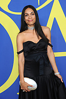 BROOKLYN, NY - JUNE 4: Rosario Dawson at the 2018 CFDA Fashion Awards at the Brooklyn Museum in New York City on June 4, 2018. <br /> CAP/MPI/JP<br /> &copy;JP/MPI/Capital Pictures