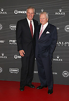 LOS ANGELES, CA - OCTOBER 5 : Bruce Meyer, Dr. Wolfgang Porsche, at the Petersen Automotive Museum Gala at The Petersen Automotive Museum in Los Angeles California on October 5, 2018. <br /> CAP/MPIFS<br /> &copy;MPIFS/Capital Pictures