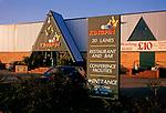 A753R7 Kingpin bowling alley exterior Martlesham Suffolk England