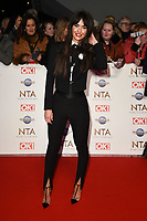 Jennifer Metcalfe<br /> arriving for the National TV Awards 2020 at the O2 Arena, London.<br /> <br /> ©Ash Knotek  D3550 28/01/2020
