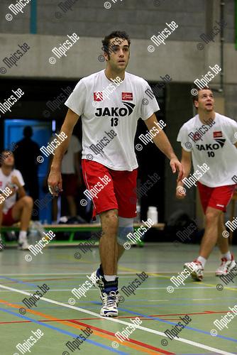 2008-09-09 / Volleybal / Topvolley Precura Antwerpen / Tim Verschueren..Foto: Maarten Straetemans (SMB)