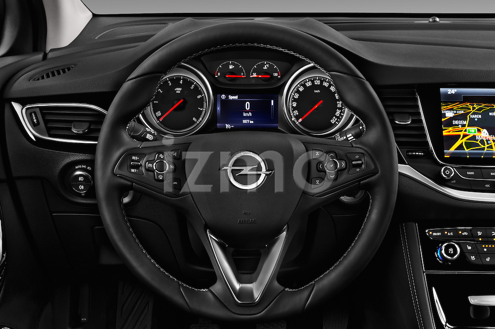 Car pictures of steering wheel view of a 2016 Opel Astra Innovation 5 Door Wagon Steering Wheel