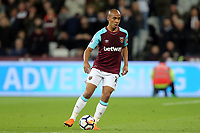 Joao Mario of West Ham United during West Ham United vs Stoke City, Premier League Football at The London Stadium on 16th April 2018