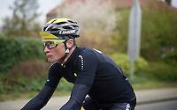 the ever making faces Thomas Voeckler (FRA/DirectEnergie)<br /> <br /> 56th De Brabantse Pijl - La Fl&egrave;che Braban&ccedil;onne (1.HC)