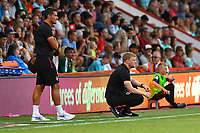 AFC Bournemouth Manager Eddie Howe watches on during AFC Bournemouth vs Real Betis, Friendly Match Football at the Vitality Stadium on 3rd August 2018