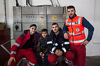 Bosnia. Diego (and his Teammates), Bosnian Red Cross Leader.<br /> <br /> Rome, 01/05/2019. This year I will not go to a MayDay Parade, I will not photograph Red flags, trade unionists, activists, thousands of members of the public marching, celebrating, chanting, fighting, marking the International Worker's Day. This year, I decided to show some of the Workers I had the chance to meet and document while at Work. This Story is dedicated to all the people who work, to all the People who are struggling to find a job, to the underpaid, to the exploited, and to the people who work in slave conditions, another way is really possible, and it is not the usual meaningless slogan: MAKE MAYDAY EVERYDAY!<br /> <br /> Happy International Workers Day, long live MayDay!