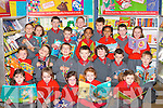 Enjoying the Holy Cross NS, Killarney book fair on Tuesday were front row l-r: Laura Kenny, Bett Coffey, Victoria Nolan, Karen O'Donoghue, Abbey Ring. Middle row: Natalia Skiba, David Zarncki, Arminas Kremanskas, Padraig Looney, Niall McGillicuddy, Eva Smith, Kacper Perkowski. Back row: Adam Grzysiak, Kmila Fudyma, Michael Linehan, Aaron Leahy, Michael O'Brien, Tamzian Cuppan, Kacper Klocek, Christopher O'Brien, Hibah Muktar and Rachel Harrison   Copyright Kerry's Eye 2008