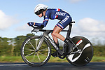 Lea Curinier of France in action during the Women Junior Individual Time Trial of the UCI World Championships 2019 running 13.7km from Harrogate to Harrogate, England. 23rd September 2019.<br /> Picture: Alex Whitehead/SWPix.com | Cyclefile<br /> <br /> All photos usage must carry mandatory copyright credit (© Cyclefile | Alex Whitehead/SWPix.com)