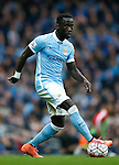 Bacary Sagna of Manchester City during the Barclays Premier League match at The Etihad Stadium. Photo credit should read: Simon Bellis/Sportimage