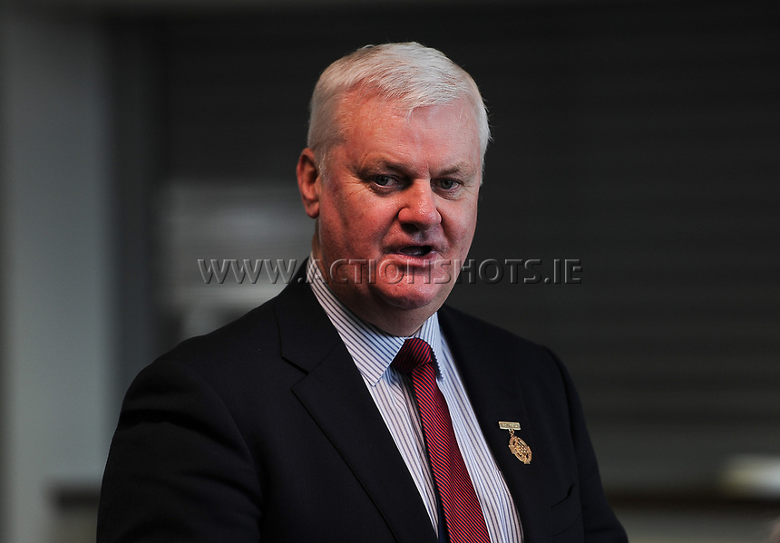 04/02/2018; GAA Handball Annual Congress 2018; Croke Park, Dublin;<br /> GAA President Aog&aacute;n &Oacute; Feargha&iacute;l.<br /> Photo Credit: actionshots.ie/Tommy Grealy