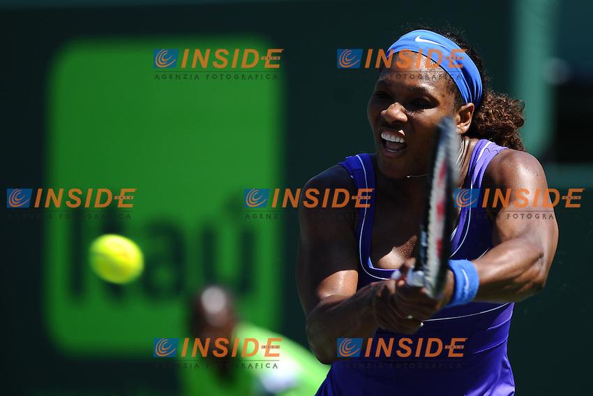 Serena Williams (USA).Torneo di tennis di Miami.26/03/2012 Miami.Foto Insidefoto / Antoine Courvercelle ..Only Italy