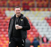 Notts County manager Kevin Nolan<br /> <br /> Photographer Chris Vaughan/CameraSport<br /> <br /> The EFL Sky Bet League Two - Lincoln City v Notts County - Saturday 13th January 2018 - Sincil Bank - Lincoln<br /> <br /> World Copyright &copy; 2018 CameraSport. All rights reserved. 43 Linden Ave. Countesthorpe. Leicester. England. LE8 5PG - Tel: +44 (0) 116 277 4147 - admin@camerasport.com - www.camerasport.com