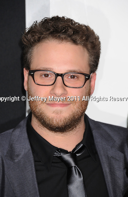 "HOLLYWOOD, CA - January 10: Seth Rogen-Executive Producer/Writer/ Actor arrives at ""The Green Hornet 3D"" Los Angeles Premiere held at Grauman's Chinese Theatre on January 10, 2011 in Hollywood, California."