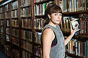 Edinburgh, UK. 12.08.2014.  Rosie Wyatt, winner of The Stage Award for Acting Excellence 2014 and star of Clara Brennan's Spine, in Central Library Edinburgh. © Jane Hobson.