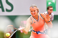 Kristina Mladenovic during Day 2 of the French Open 2018 on May 28, 2018 in Paris, France. (Photo by Dave Winter/Icon Sport)